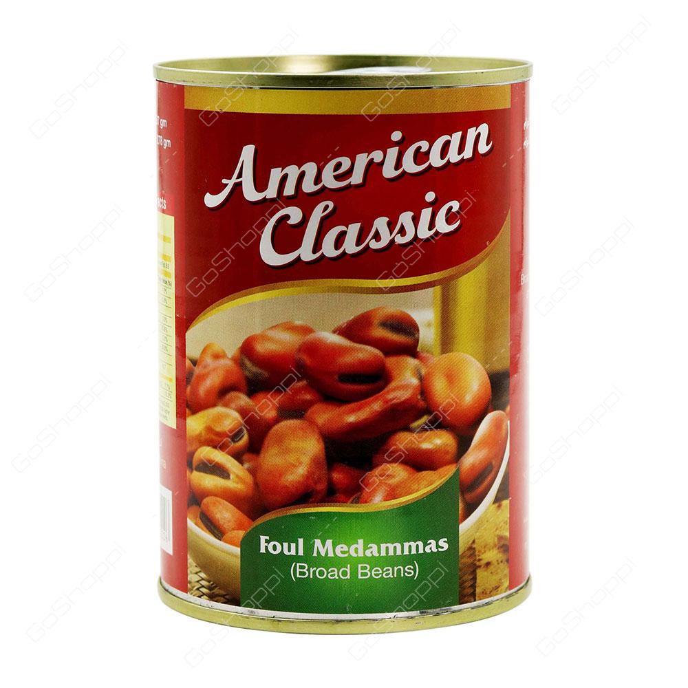 American Classic Foul Medammas Broad Beans 397 g