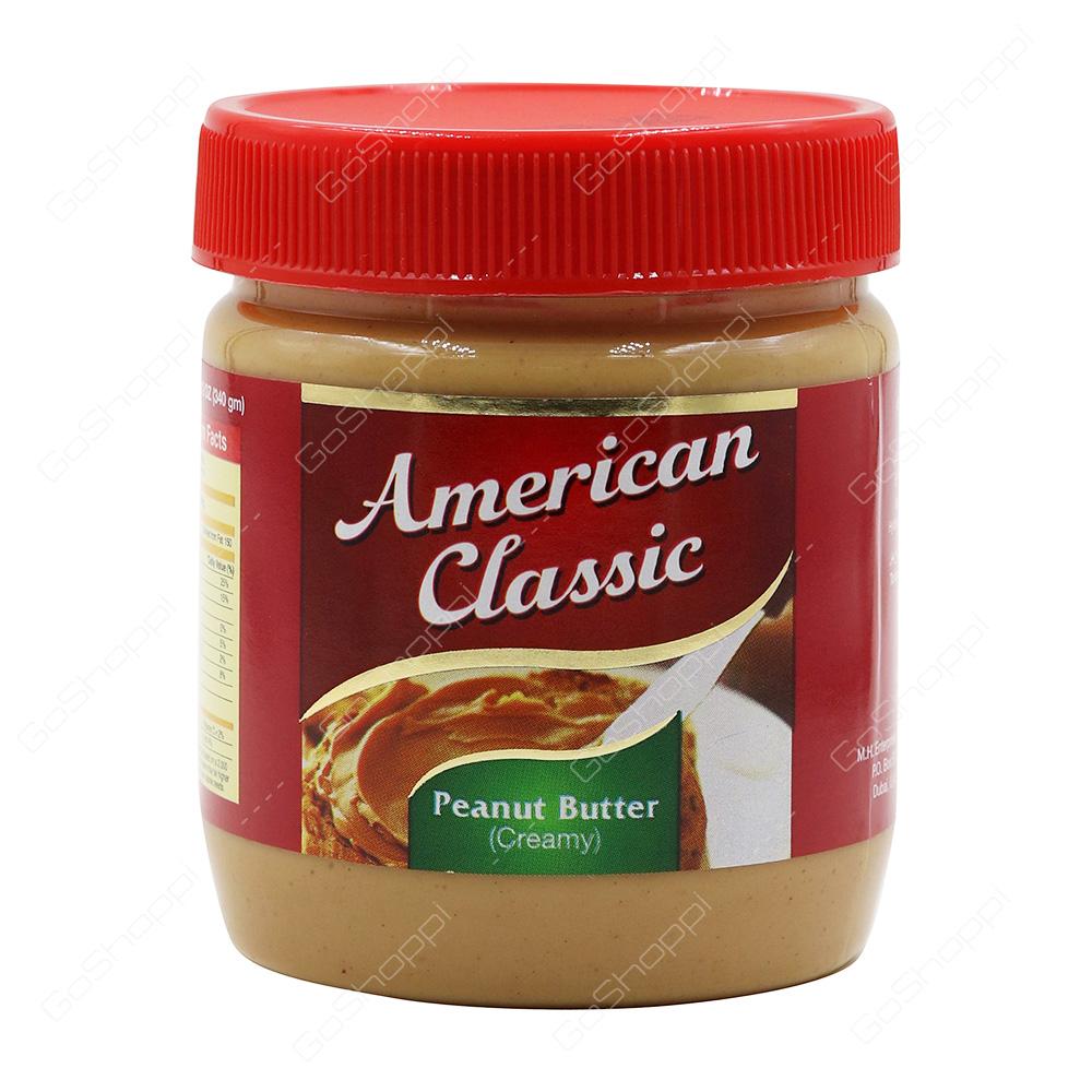American Classic Peanut Butter Creamy 340 g