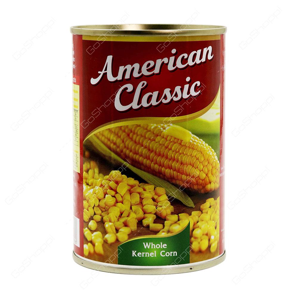 American Classic Whole Kernel Corn 425 g