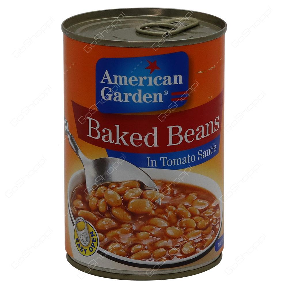 American Garden Baked Beans In Tomato Sauce 420 g