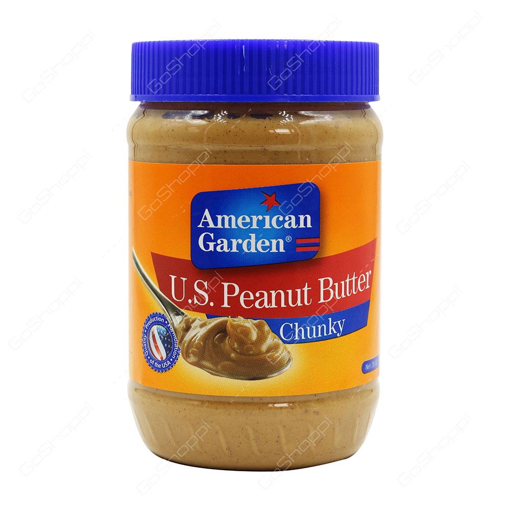 American Garden Chunky US Peanut Butter 794 g