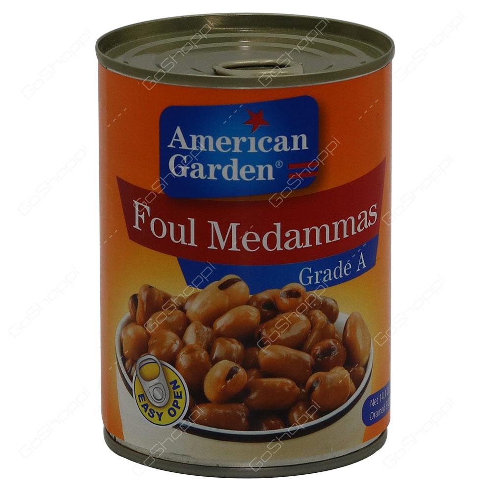American Garden Foul Medammas Grade A 400 g