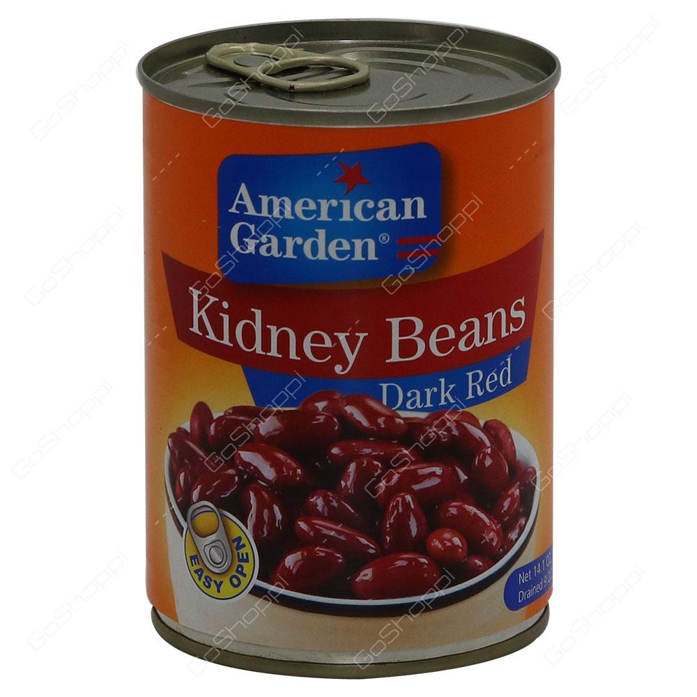 American Garden Kidney Beans Dark Red 400 g