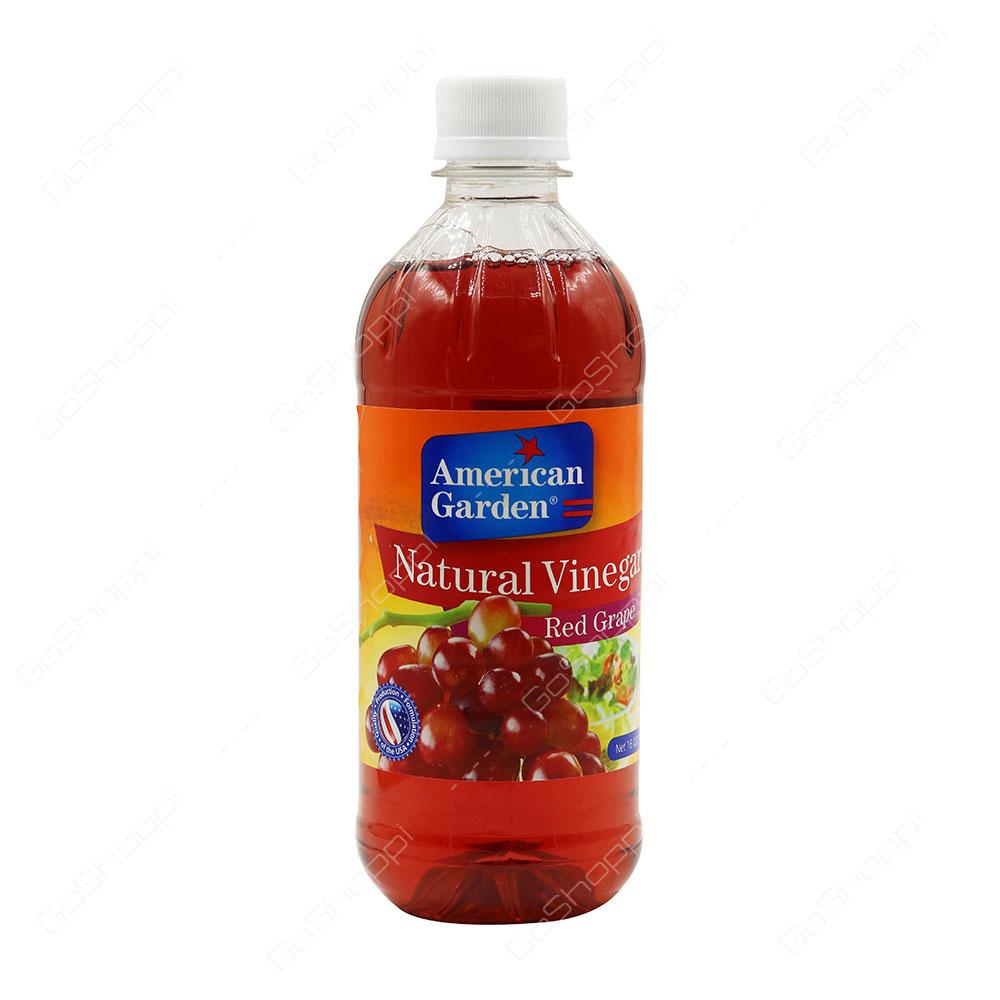 American Garden Natural Vinegar Red Grape 473 ml