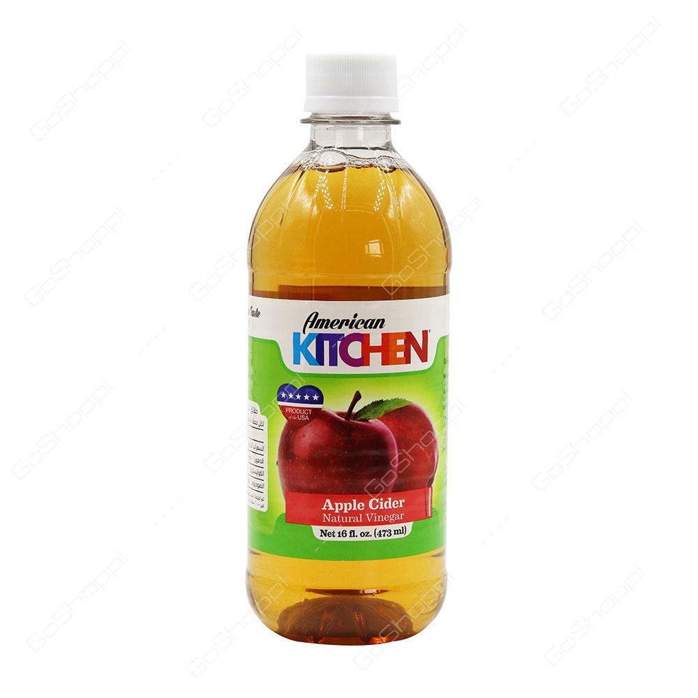 American Kitchen Apple Cider Natural Vinegar 473 ml