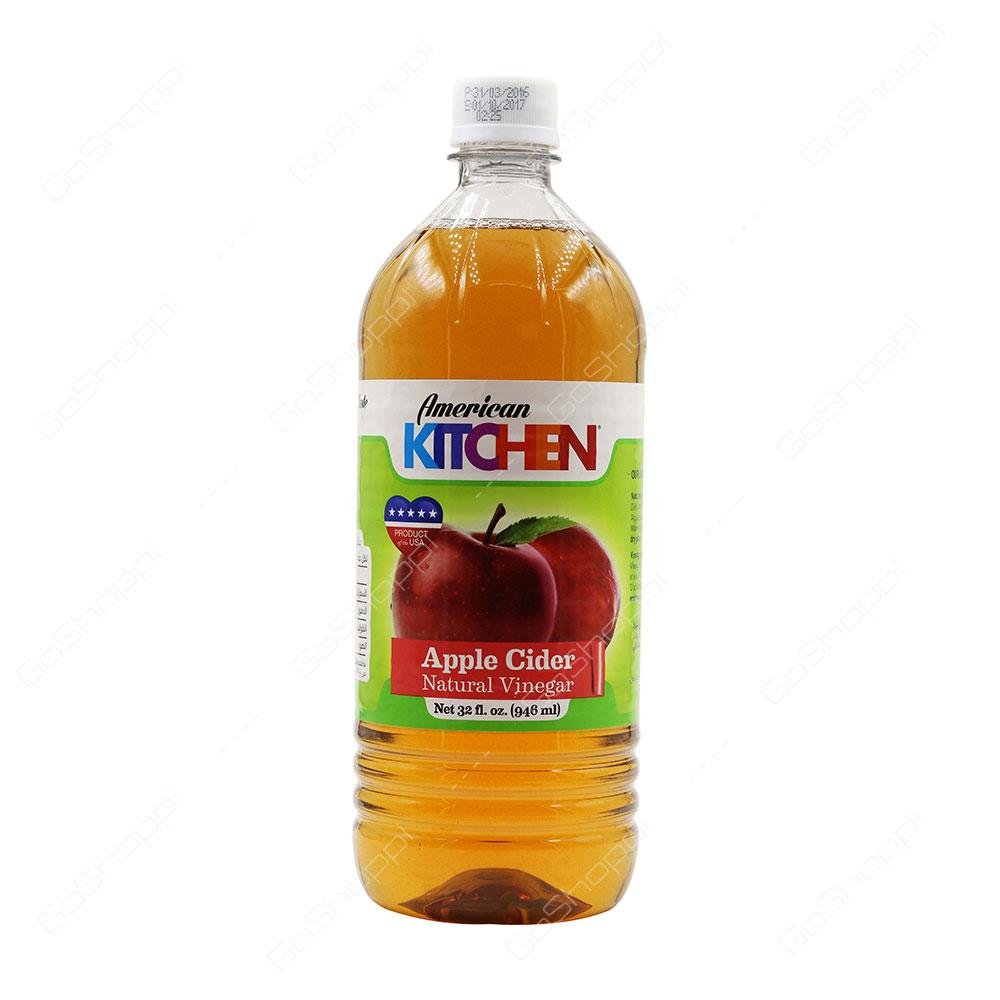 American Kitchen Apple Cider Natural Vinegar 946 ml