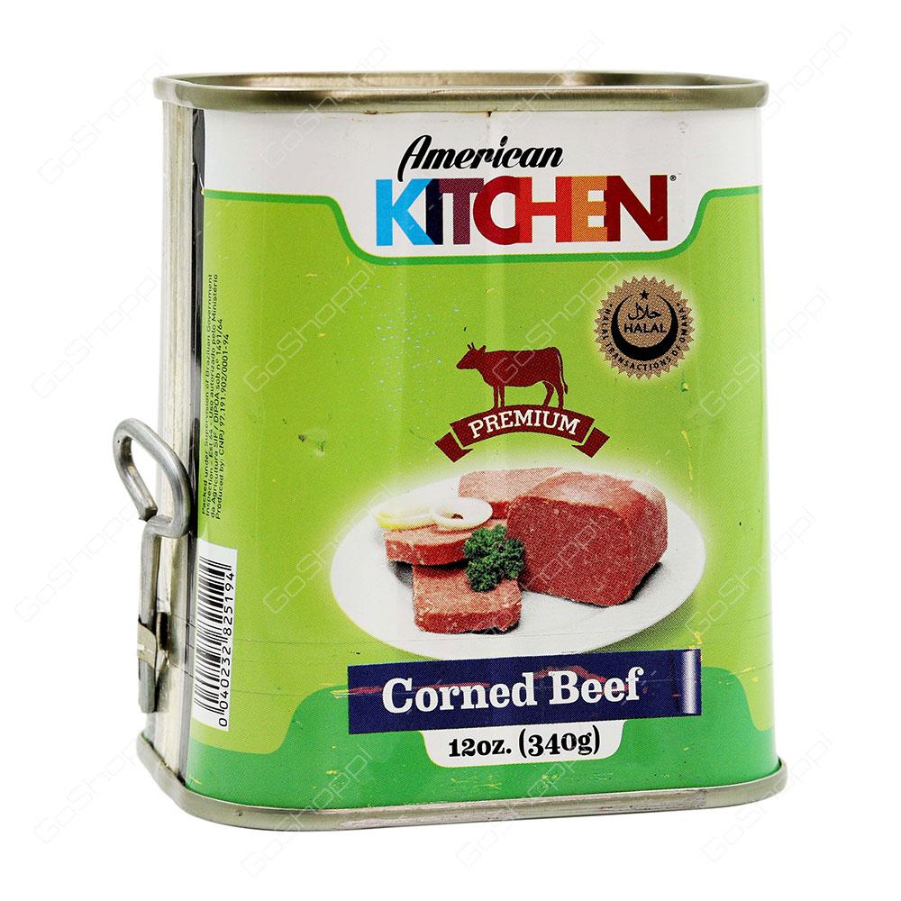 American Kitchen Corned Beef 340 g