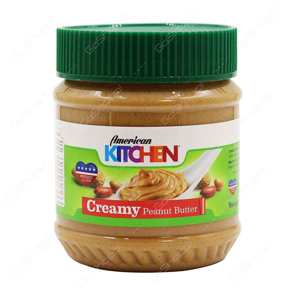 American Kitchen Creamy Peanut Butter 340 g