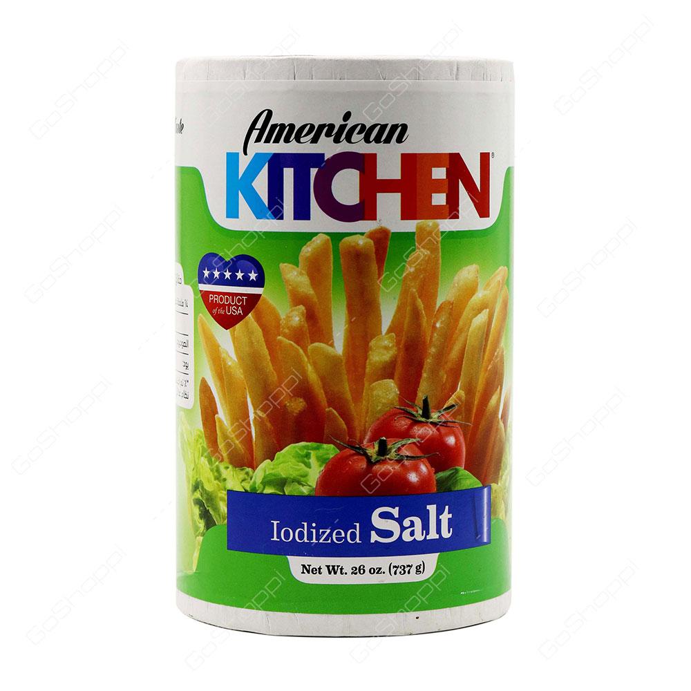 American Kitchen Iodized Salt 737 g