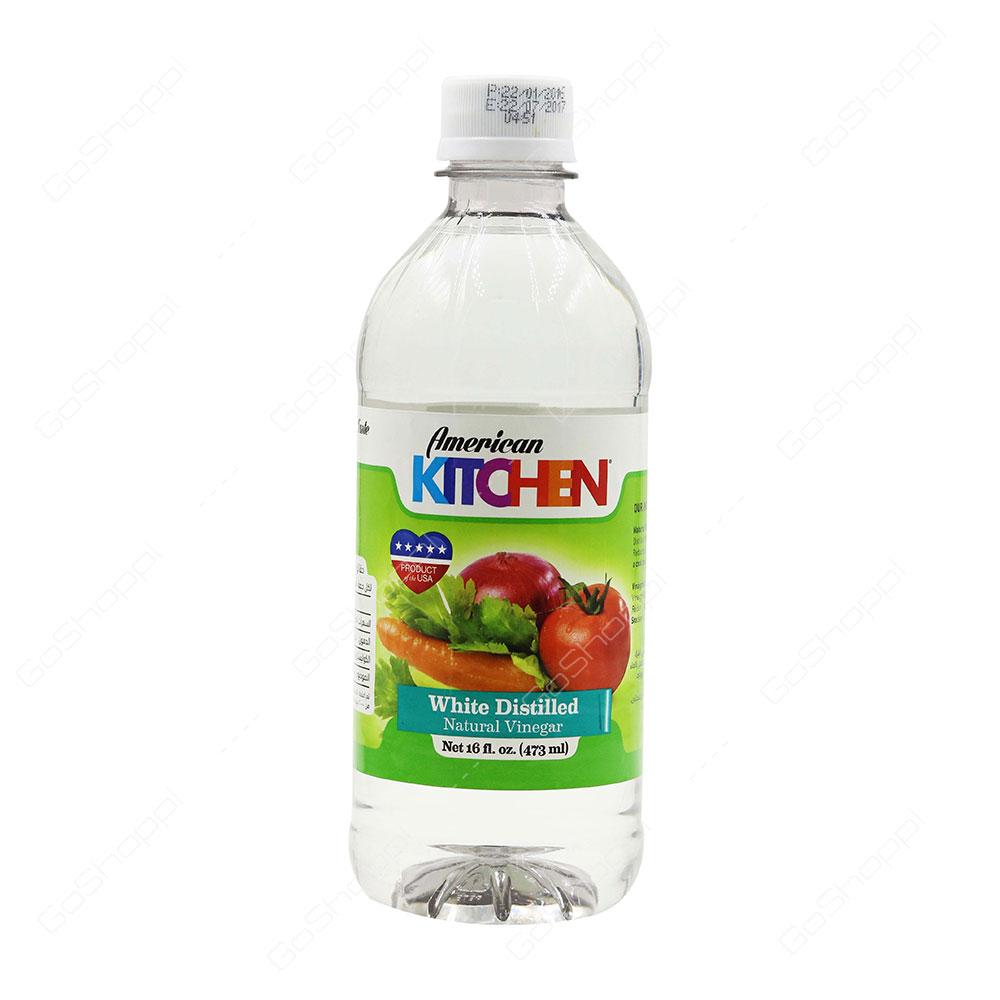 American Kitchen White Distilled Natural Vinegar 473 ml