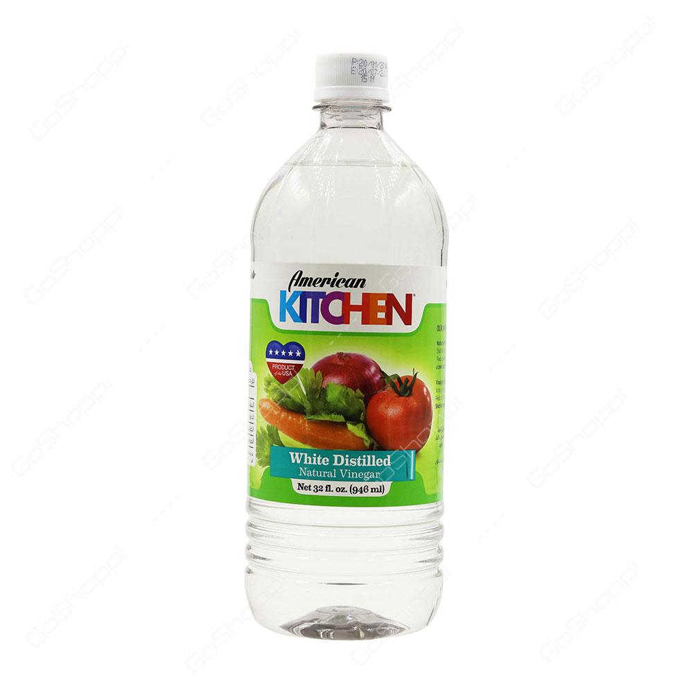 American Kitchen White Distilled Natural Vinegar 946 ml