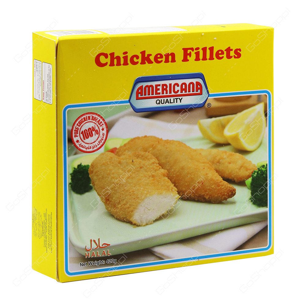 Americana Quality Chicken Fillets 420 g