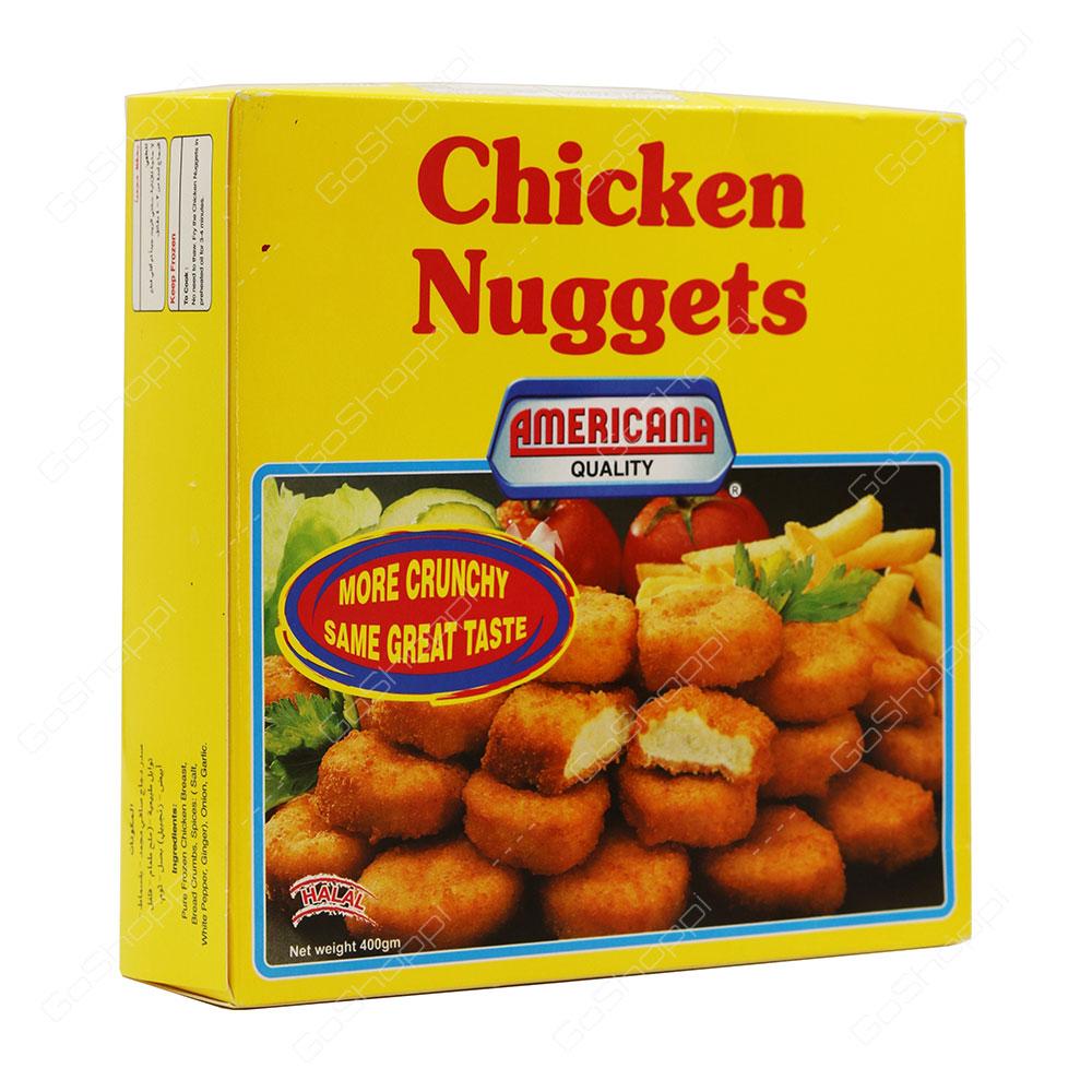 Americana Quality Chicken Nuggets Halal 400 g