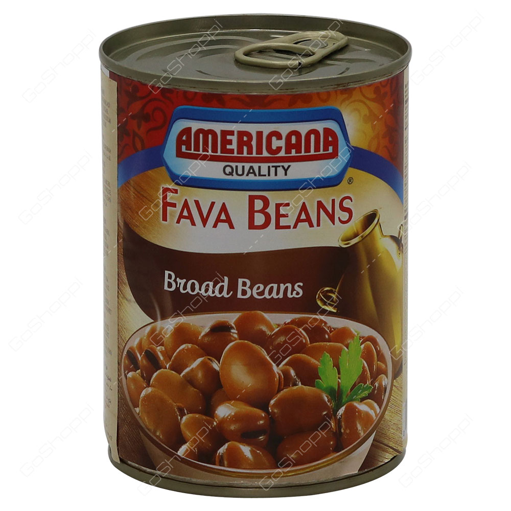 Americana Quality Fava Beans With Broad Beans 400 g