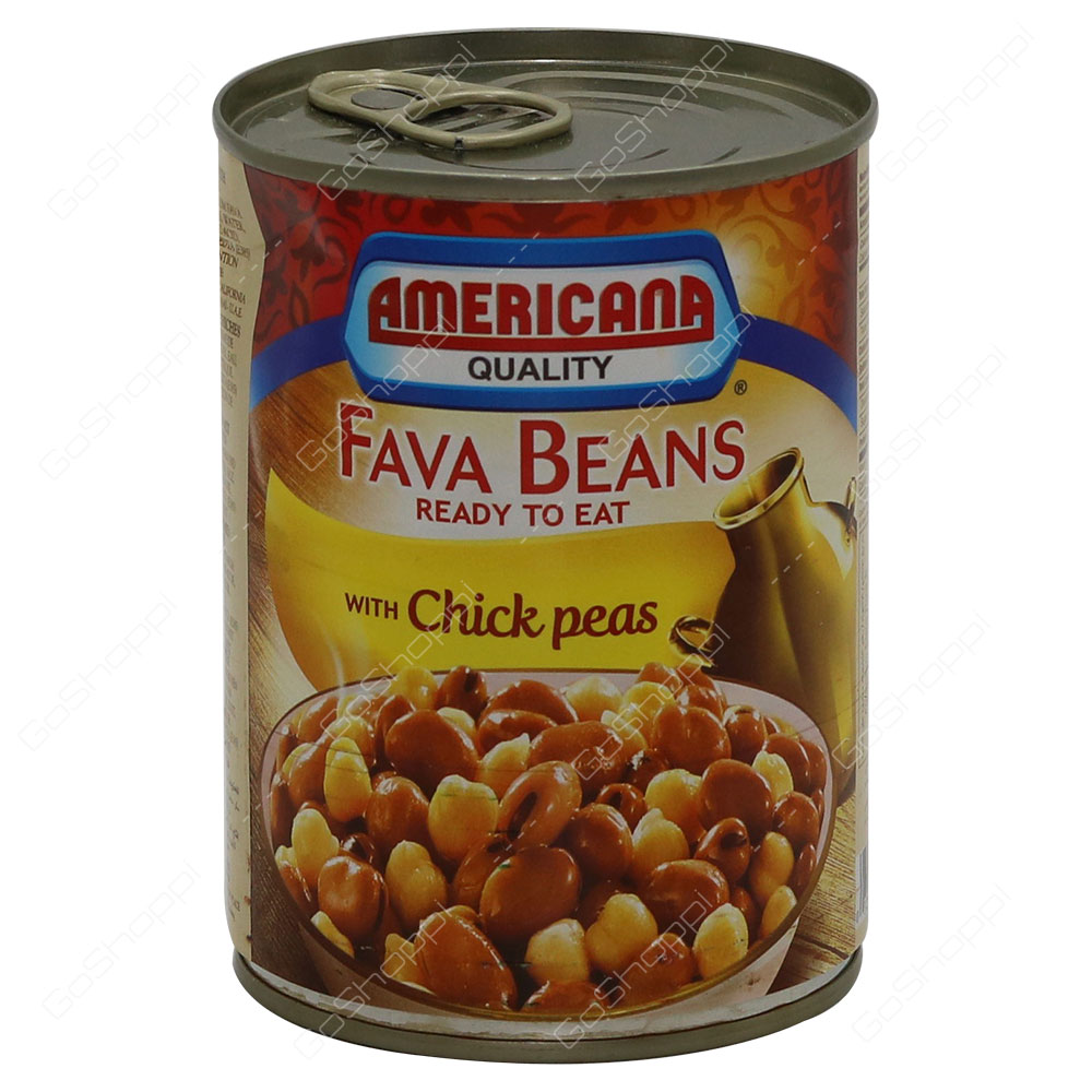 Americana Quality Fava Beans With Chick Peas 400 g