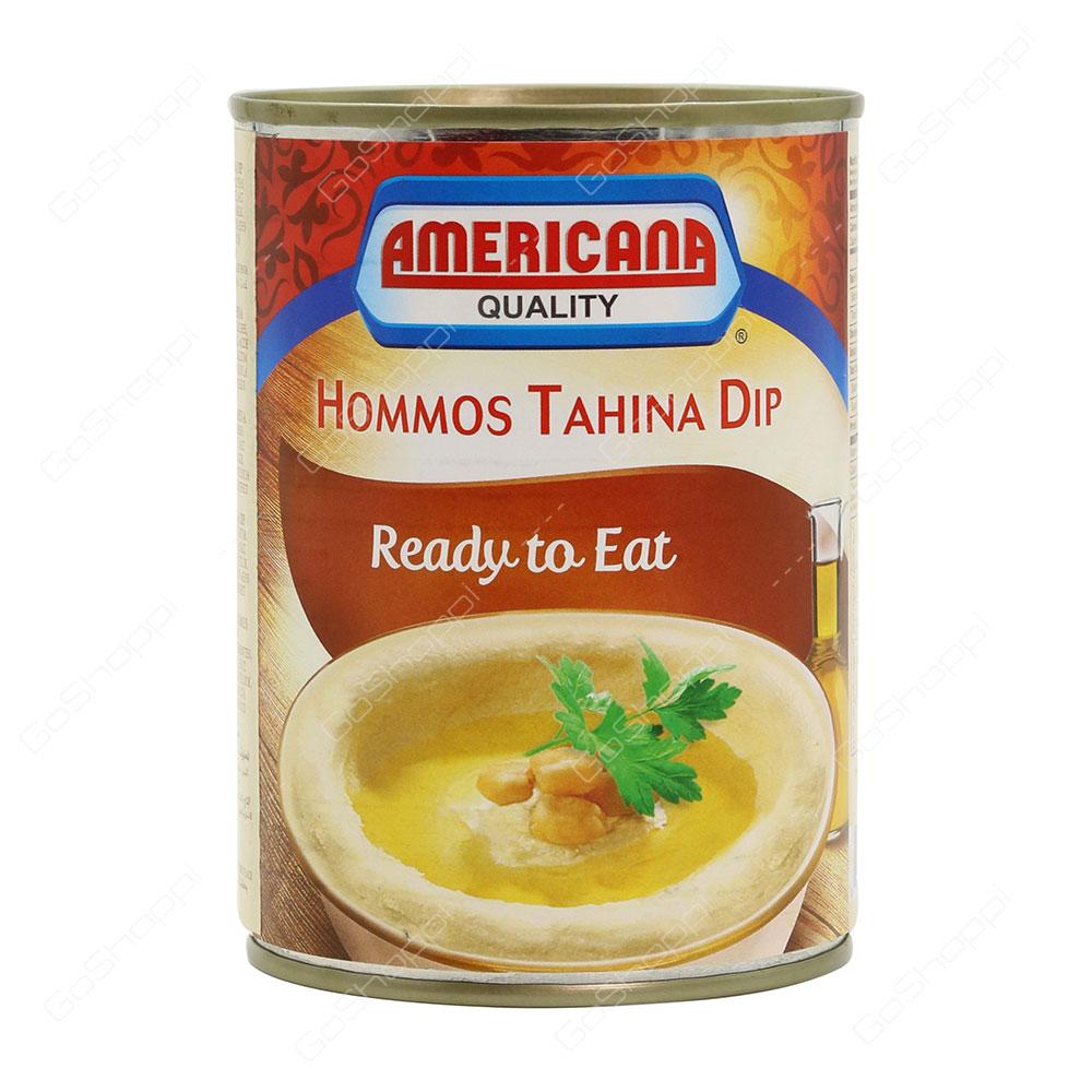 Americana Quality Hommos Tahina Dip 400 g