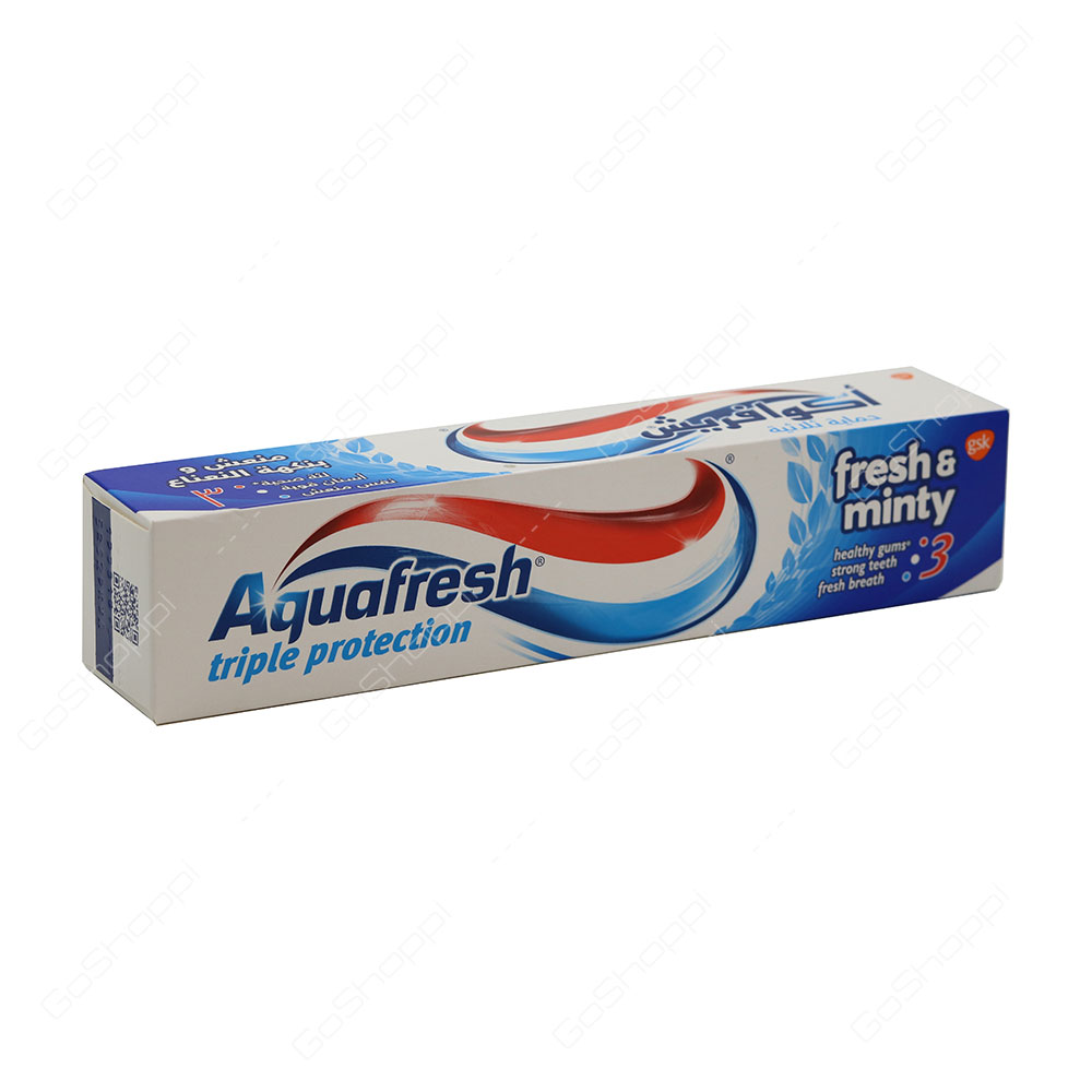 Aquafresh Fresh And Minty Triple Protection Toothpaste 125 ml