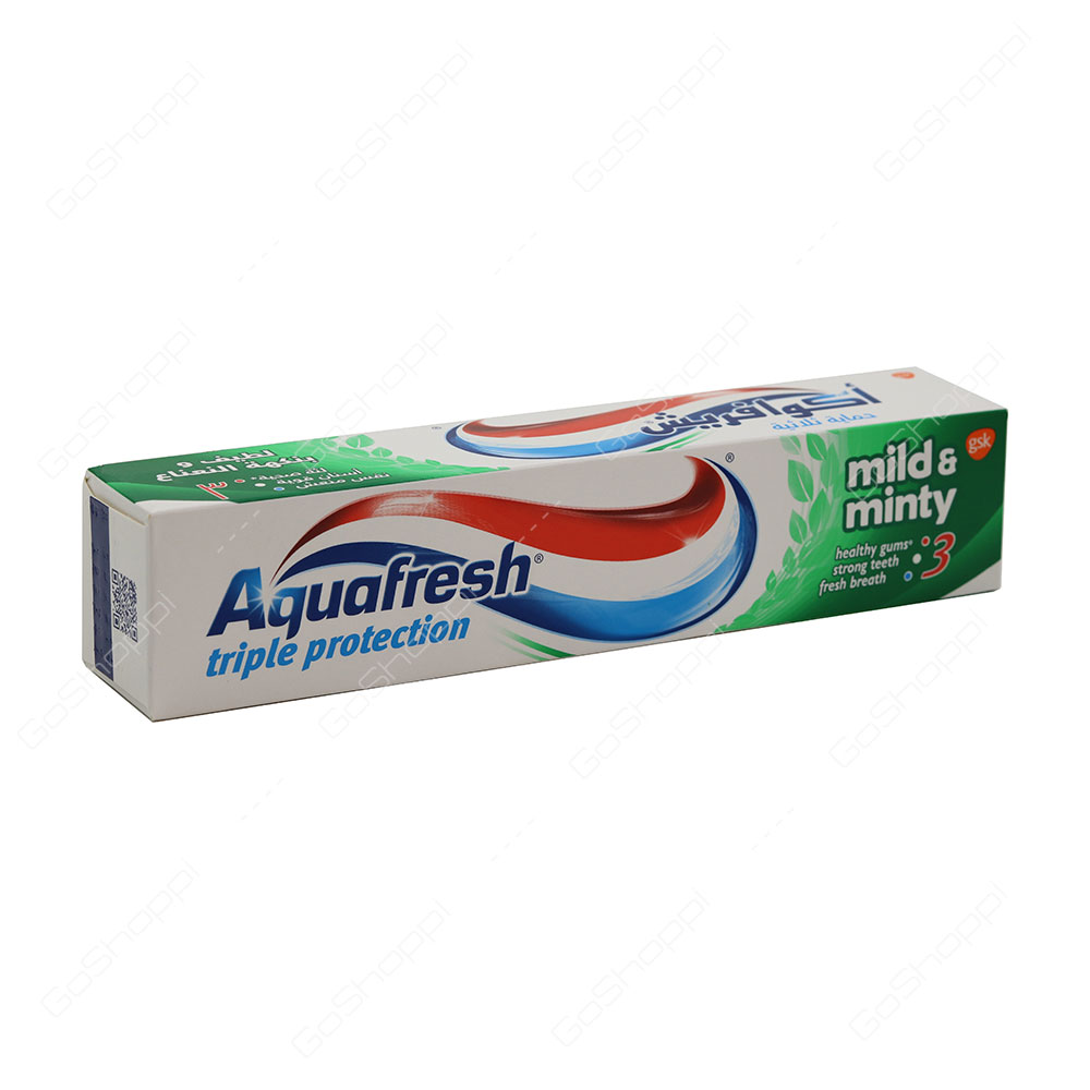 Aquafresh Mild And Minty Triple Protection Toothpaste 125 ml