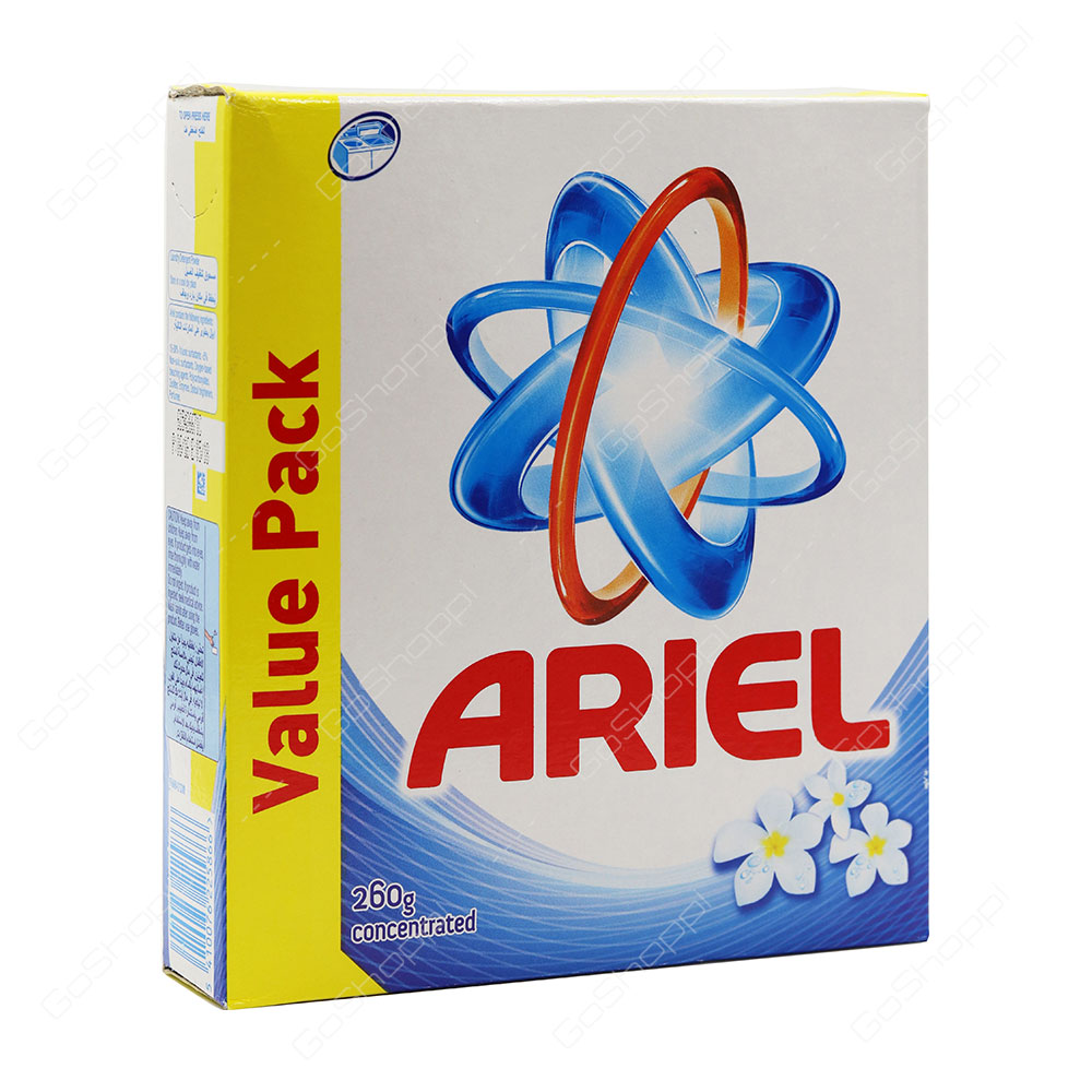 Ariel Blue Top Load Concentrated Washing Powder 260 g