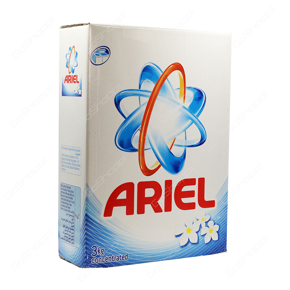 Ariel Blue Top Load Concentrated Washing Powder 3 kg