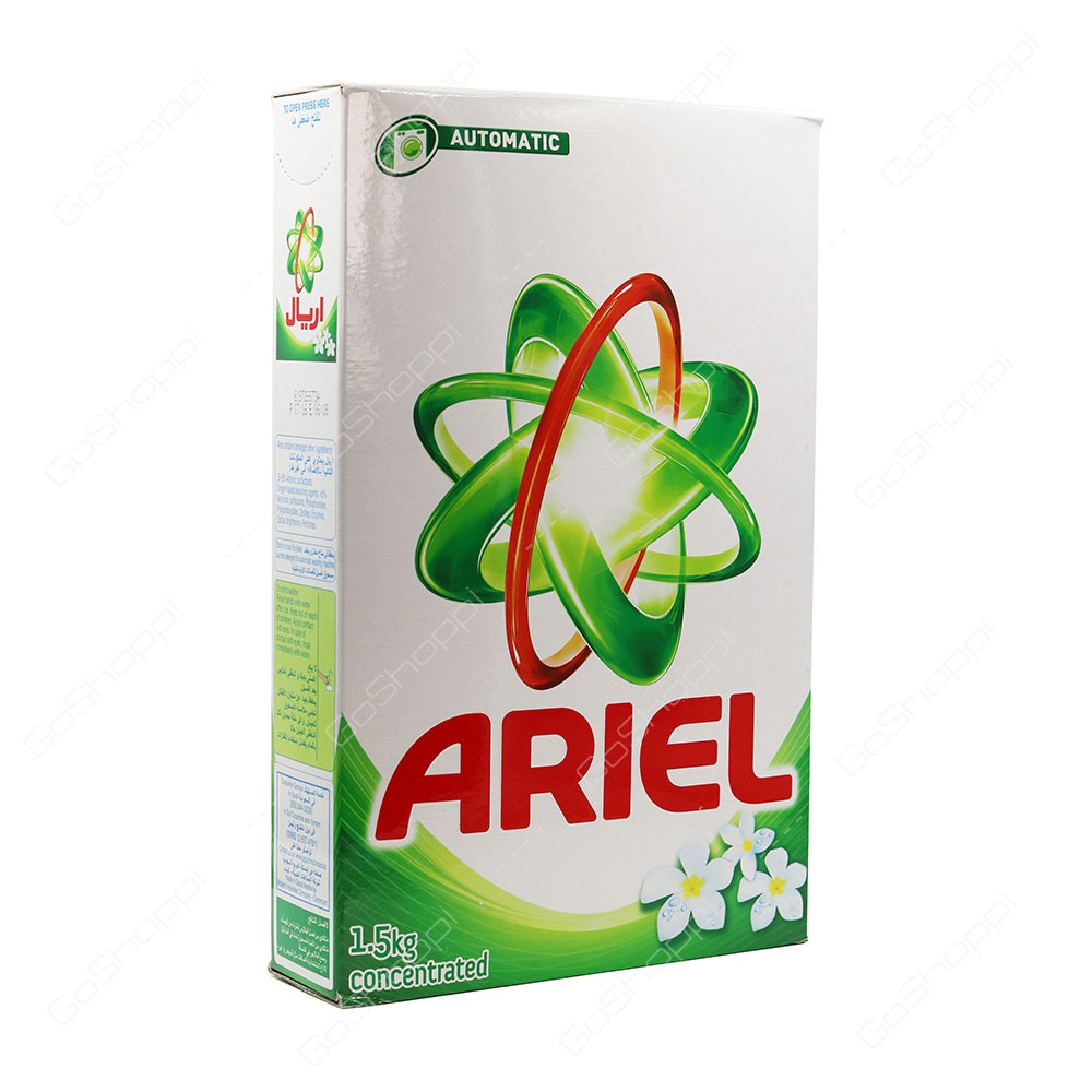 Ariel Green Automatic Front Load Concentrated Washing Powder 1.5 kg