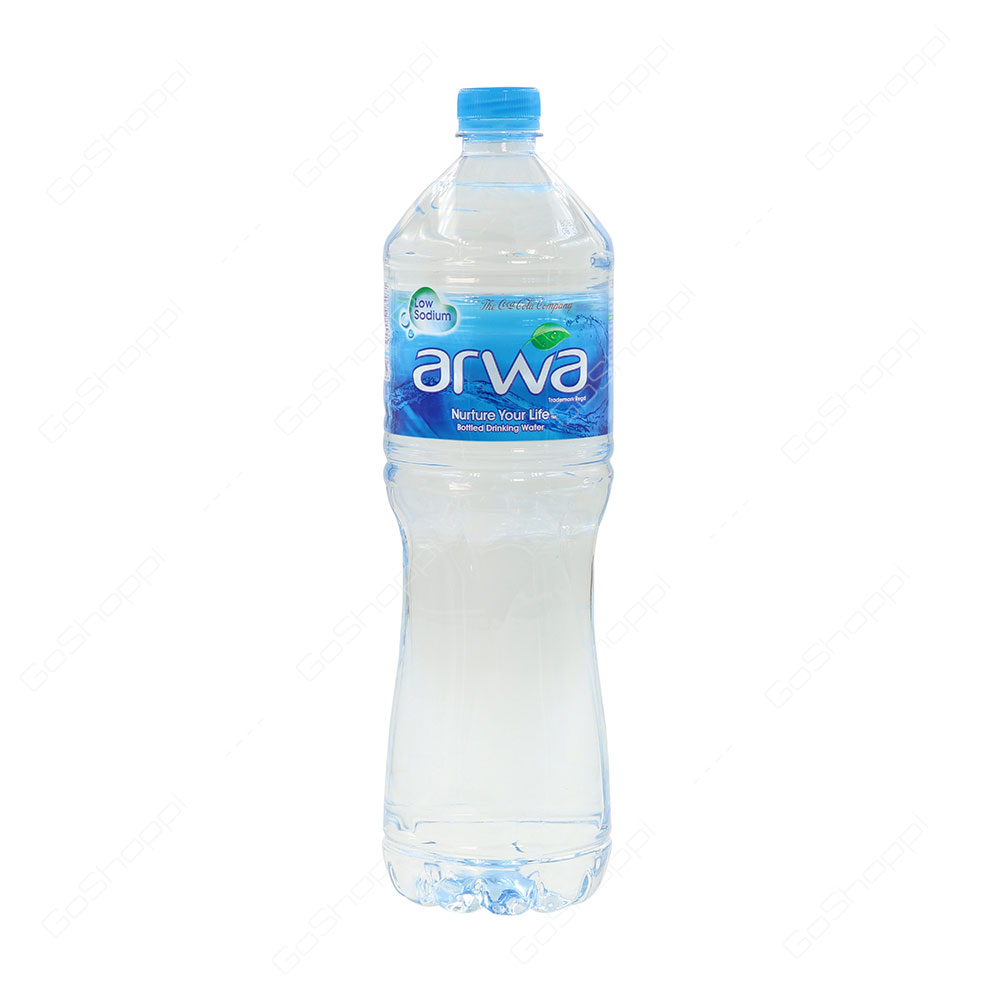 Arwa Low Sodium Bottled Drinking Water 1.5 l