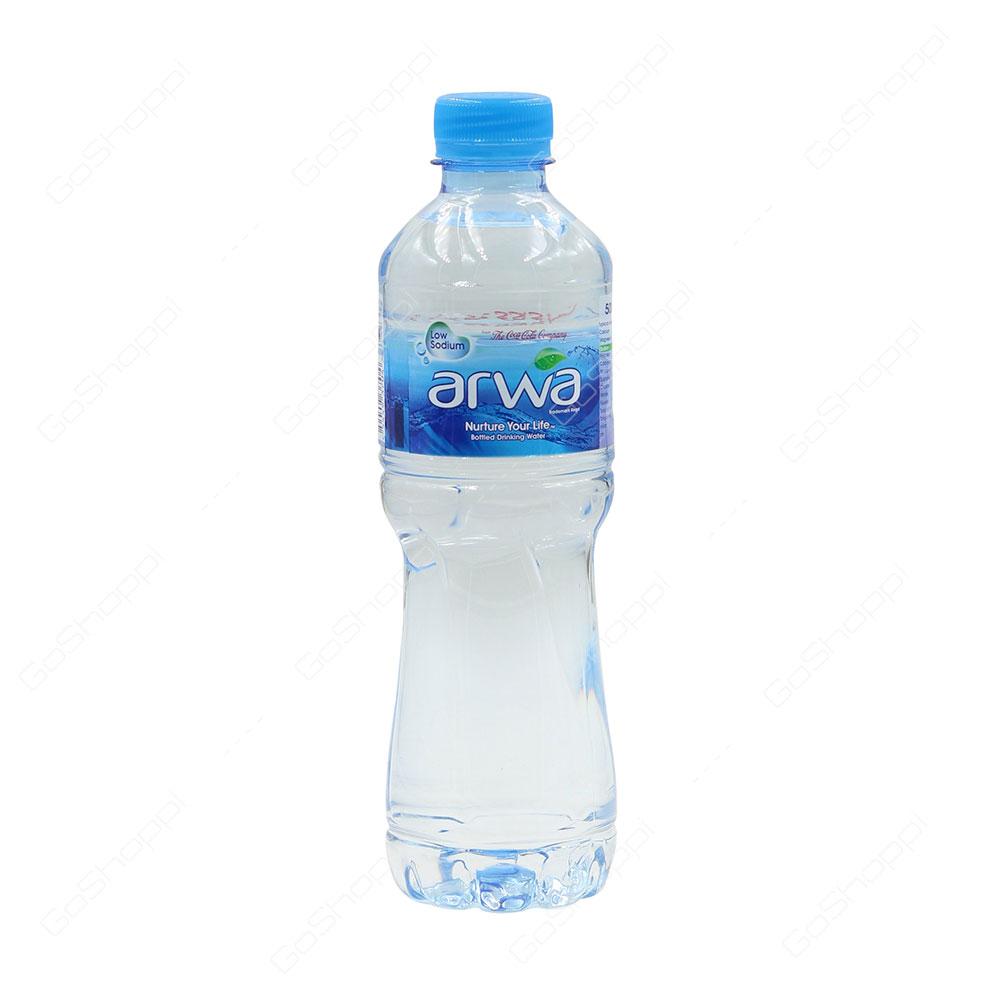 Arwa Low Sodium Bottled Drinking Water 500 ml