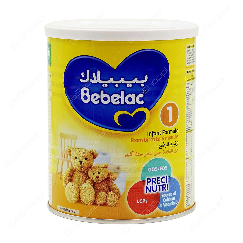 Bebelac Preci Nutri Infant Formula Stage 1 400 g