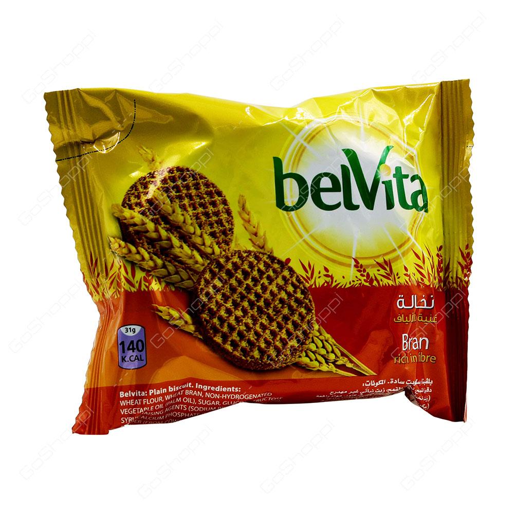 Belvita Bran Rich in Fibre Biscuits 62 g