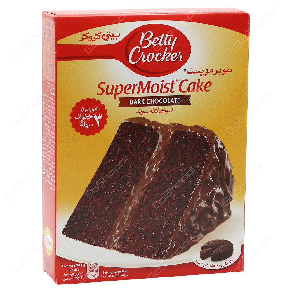 Betty Crocker Super Moist Cake Dark Chocolate 500 g