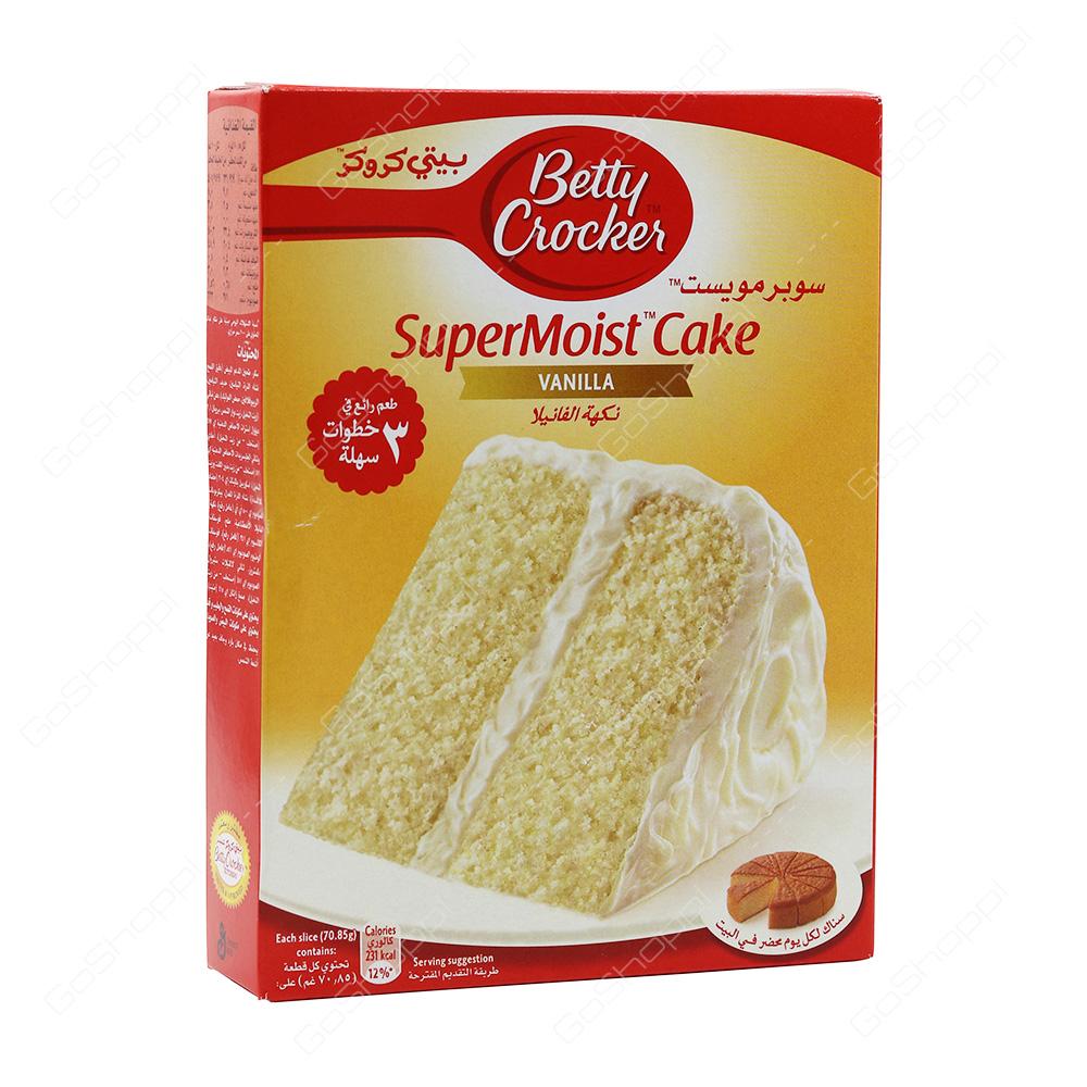 Betty Crocker SuperMoist Cake Vanilla 500 g