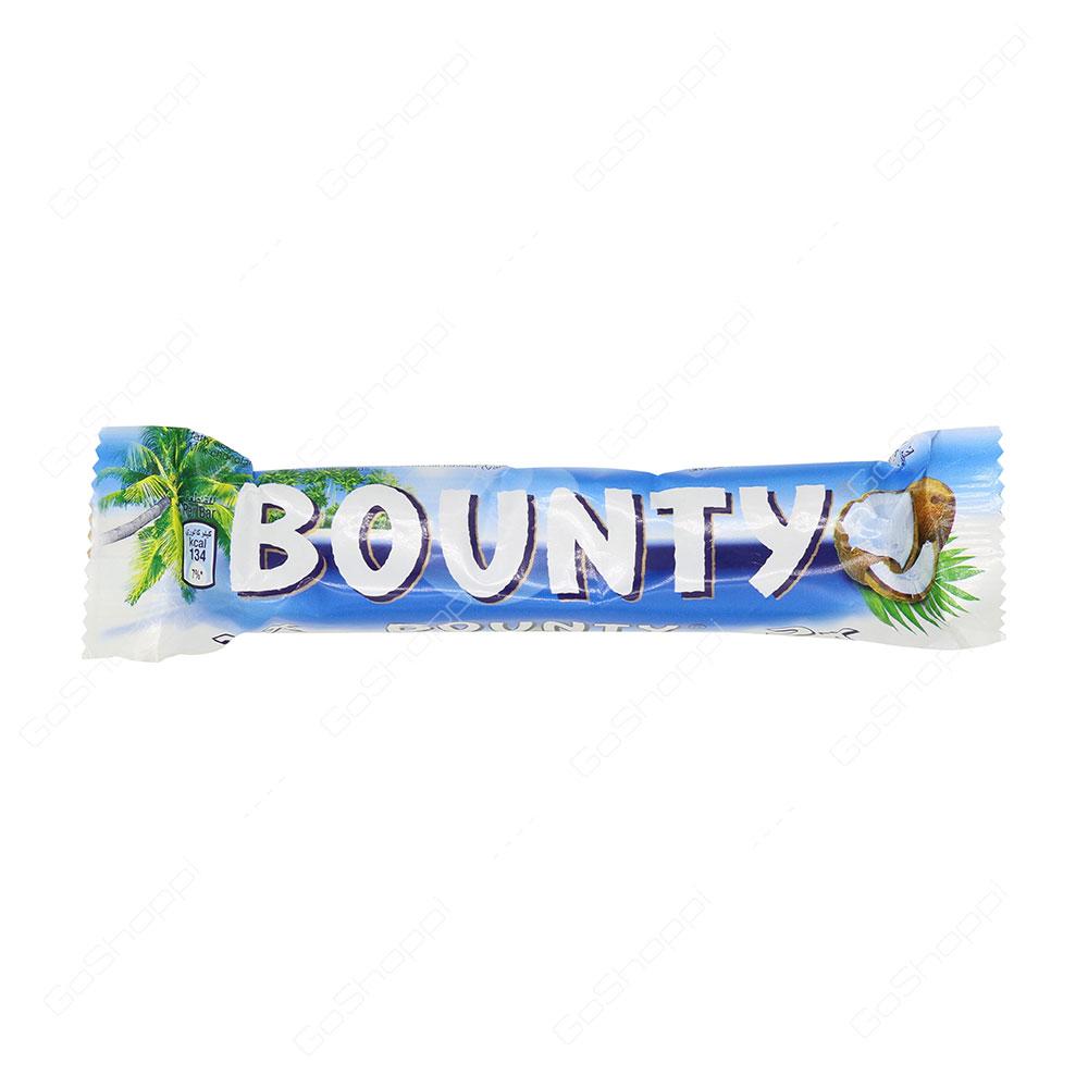 Bounty Chocolate 2X 55 g