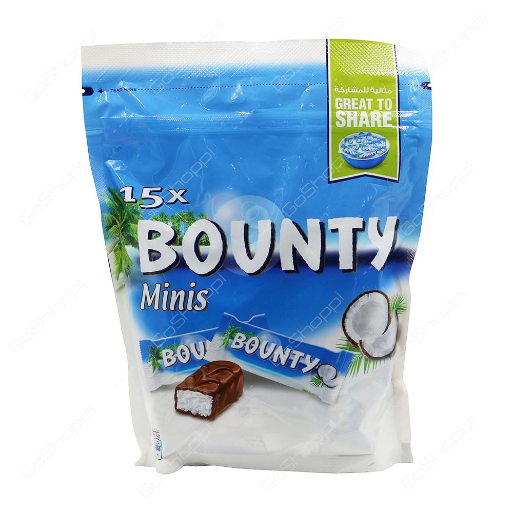 Bounty Minis Chocolates 15 Bars