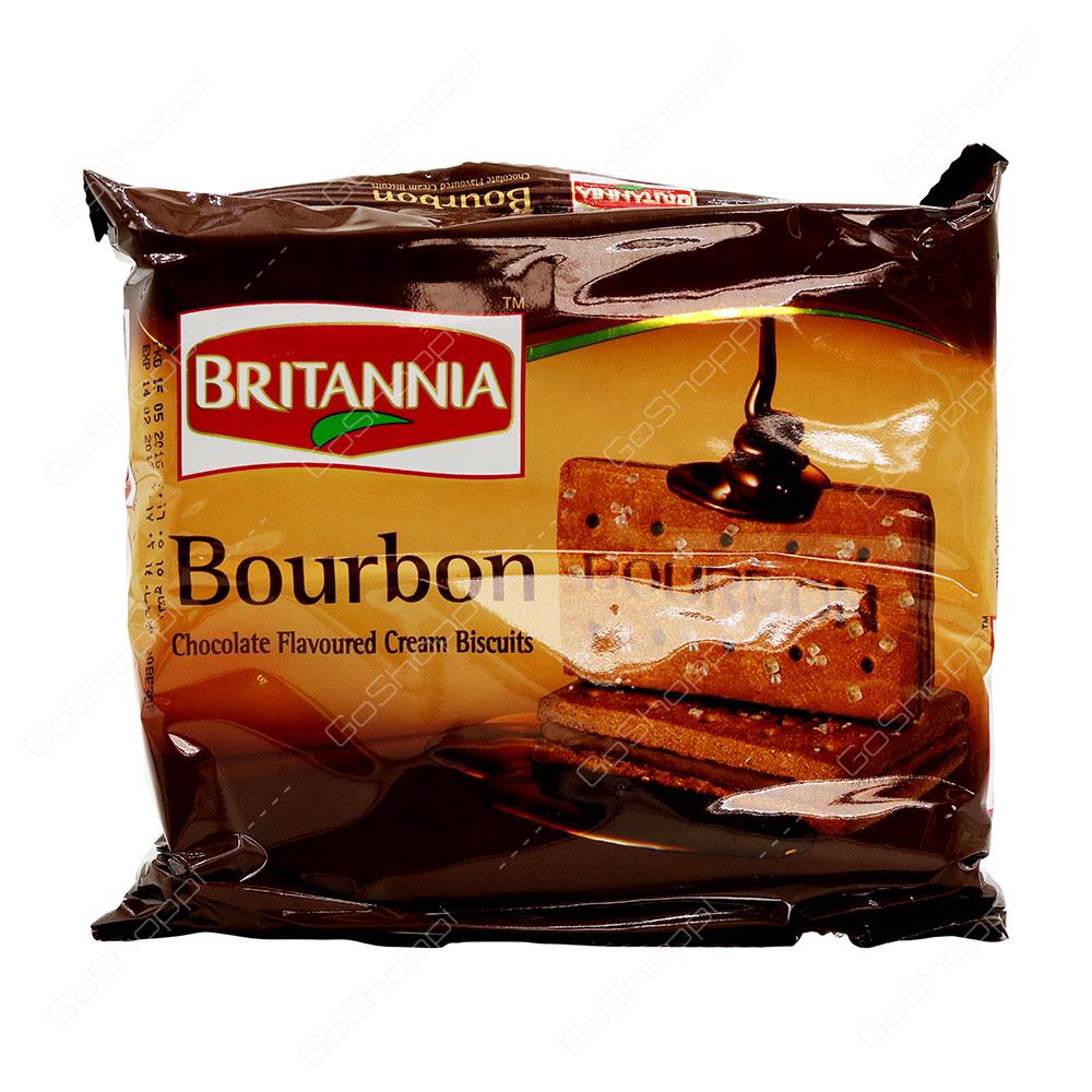 Britannia Bourbon Chocolate Flavoured Cream Biscuits 200 g