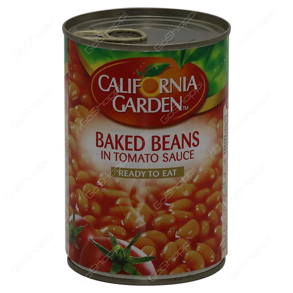 California Garden Baked Beans In Tomato Sauce 420 g