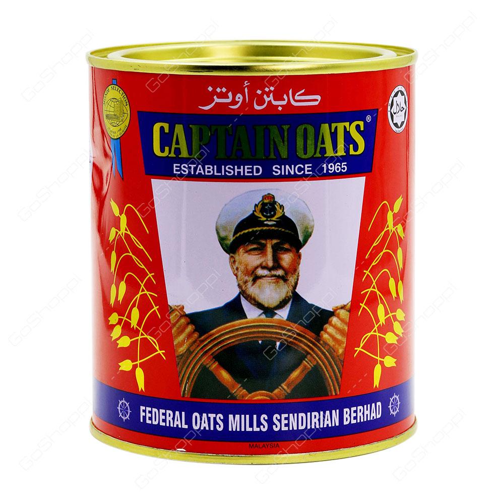 Captain Oats Oats Can 500 g