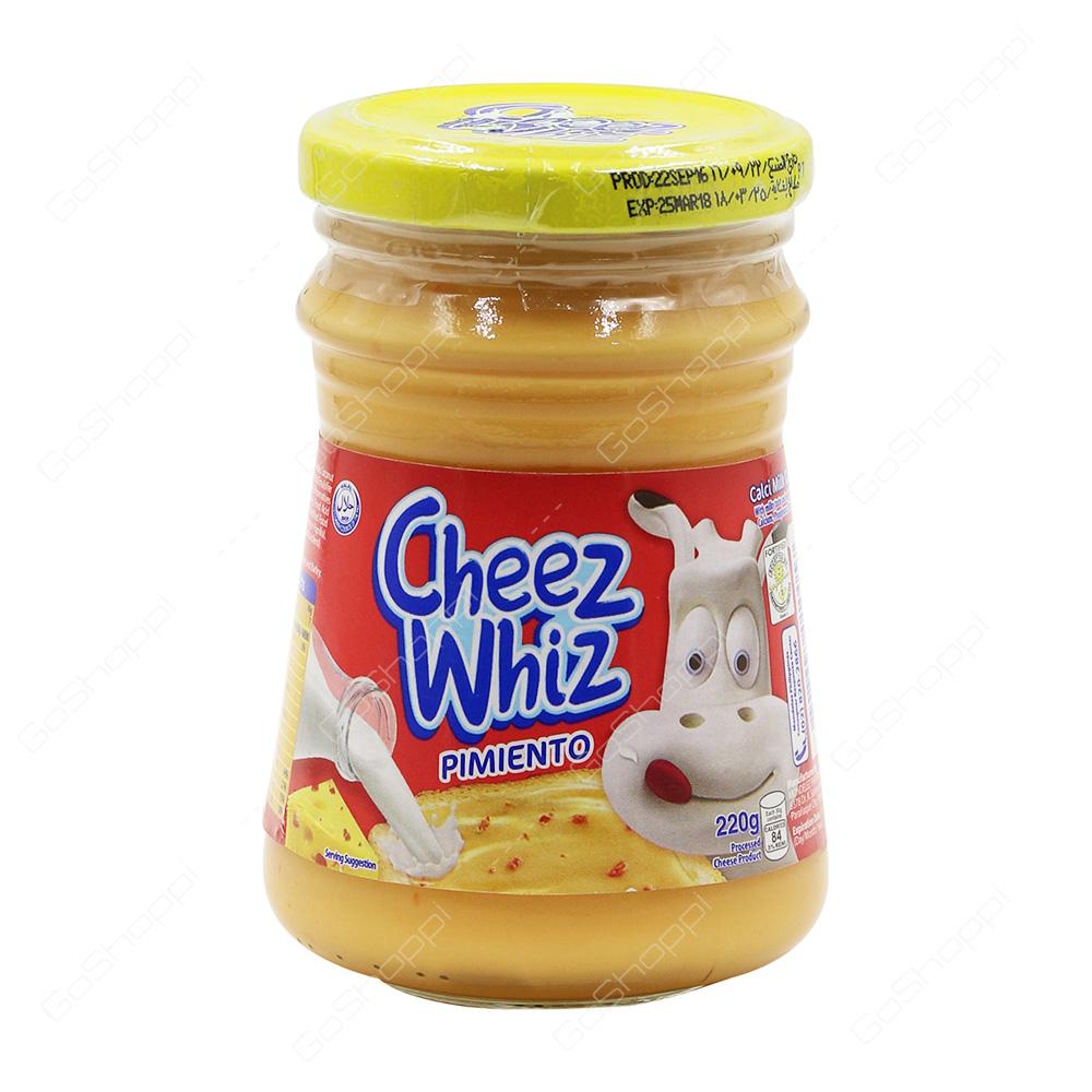Cheez Whiz Pimiento   220 g