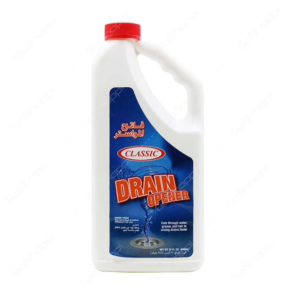 Classic Drain Opener Liquid 946 ml