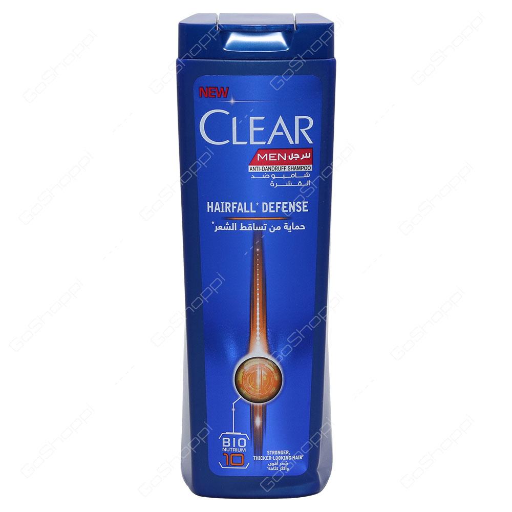 Clear Men Hair Fall Defence Anti Dandruff Shampoo 400 ml