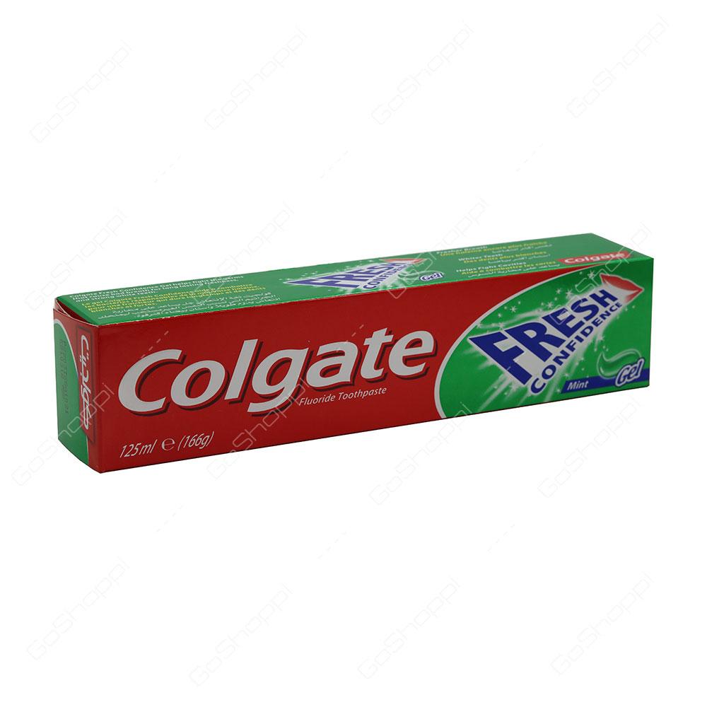 Colgate Fresh Confidence Mint Gel Toothpaste 125 ml