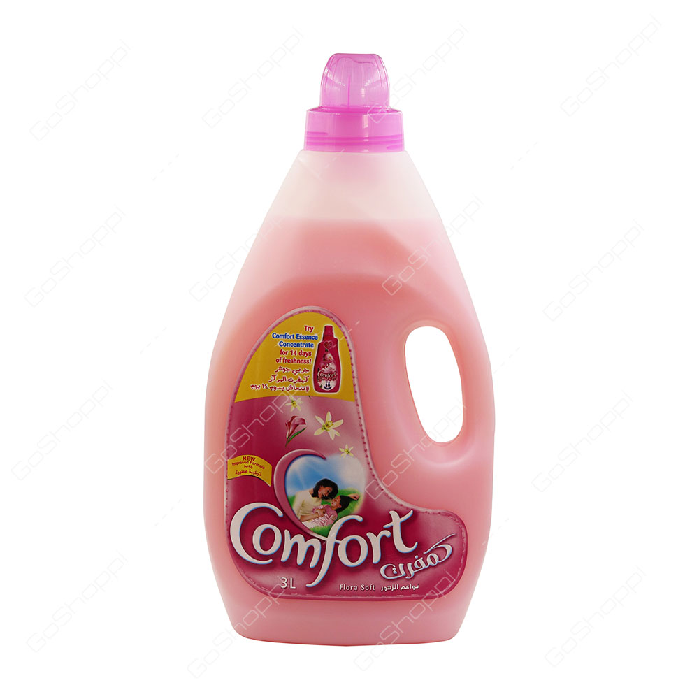 Comfort Concentrated Fabric Conditioner Flora Soft 3 l