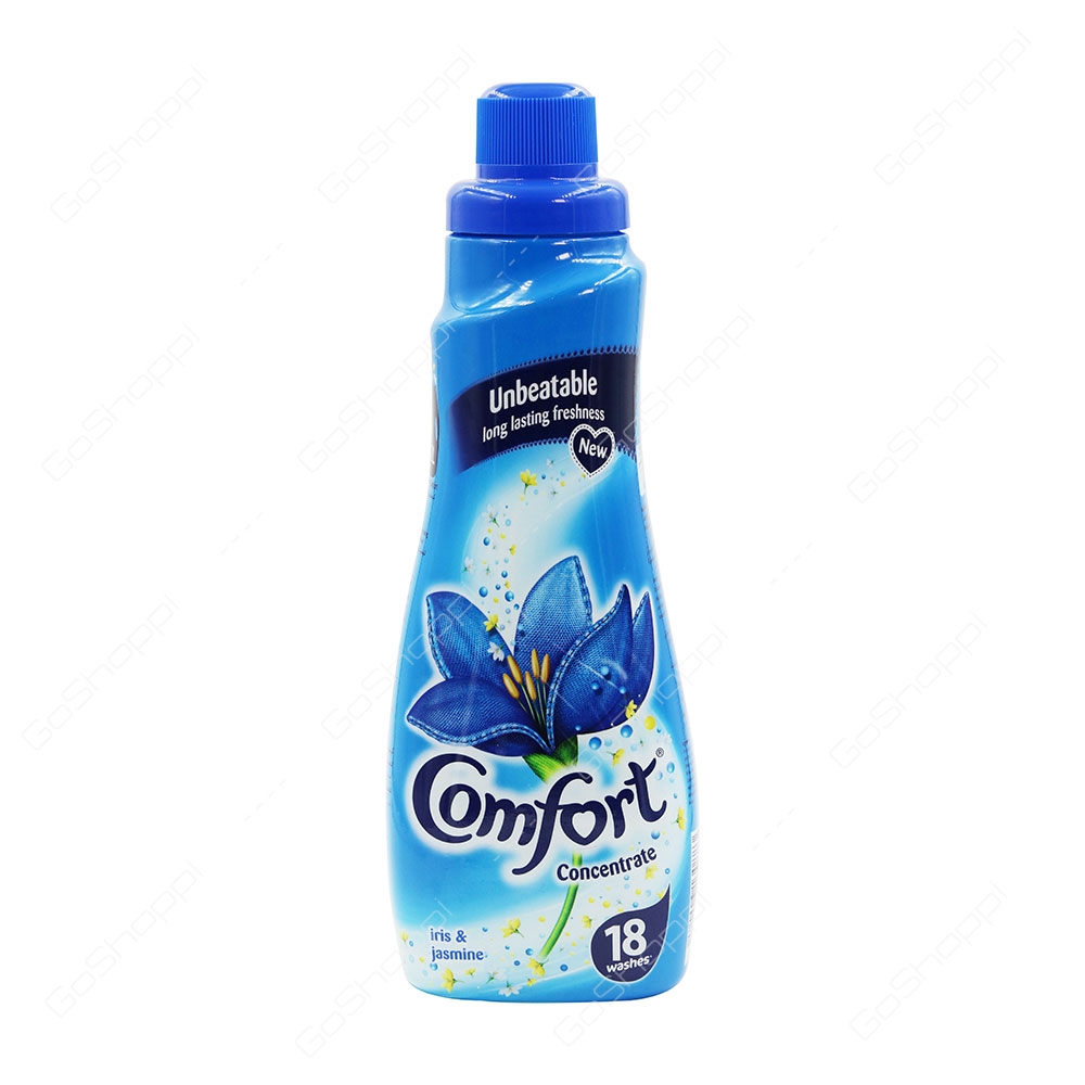 Comfort Concentrated Fabric Conditioner Iris And jasmine 18 Washes 750 ml