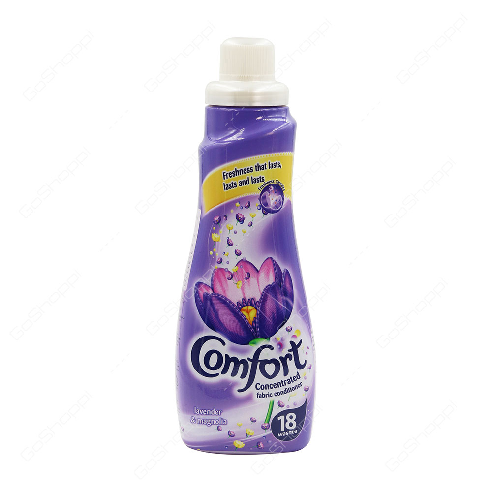 Comfort Concentrated Fabric Conditioner Lavender and Magnolia 750 ml
