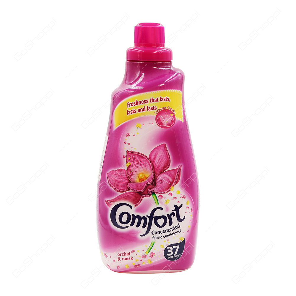 Comfort Concentrated Fabric Conditioner Orchid And Musk 37 Washes 1.5 l