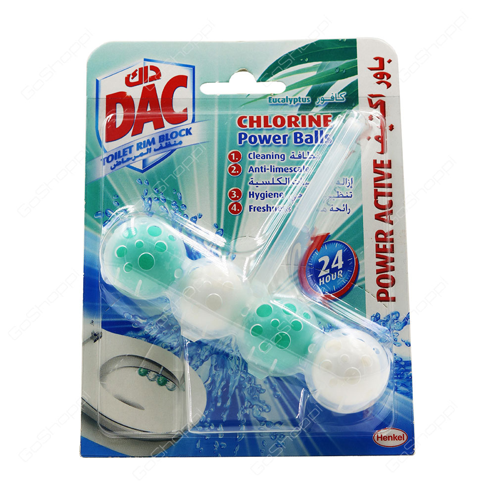 Dac Chlorine Power Balls Eucalyptus 50 g