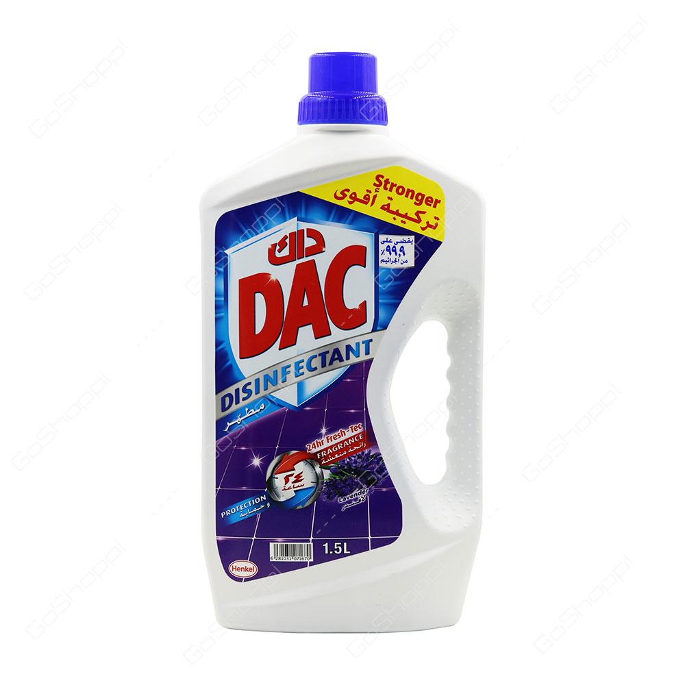 Dac Disinfectant Lavender 1.5 l