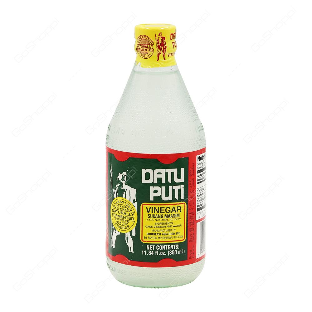 Datu Puti Vinegar 350 ml