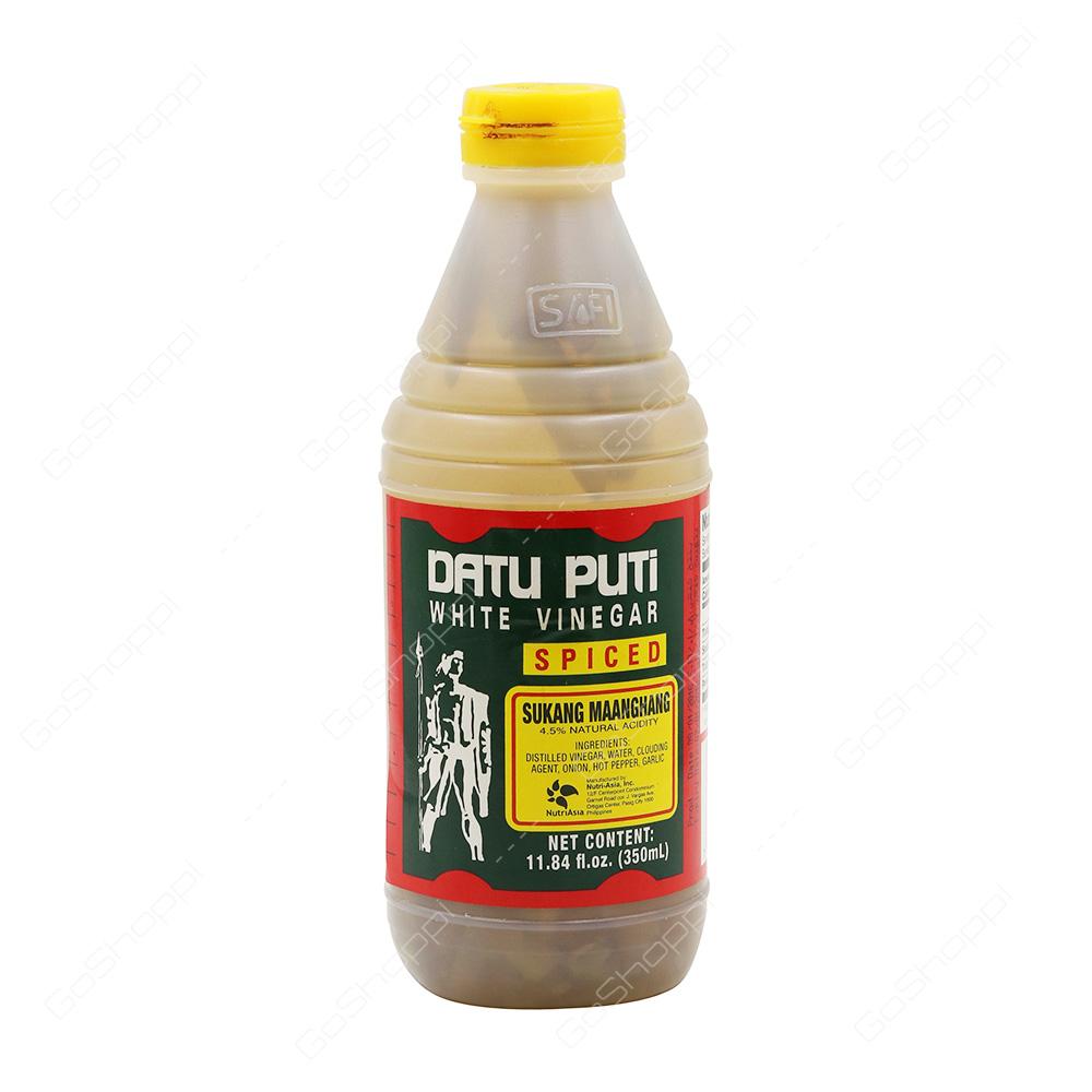 Datu Puti White Vinegar Spiced 385 ml