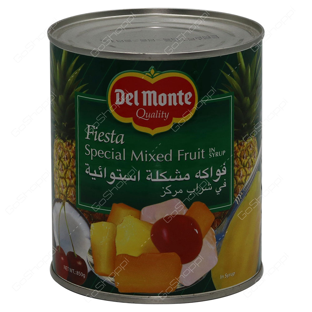 Del Monte Fiesta Special Mixed Fruit In Syrup 850 g