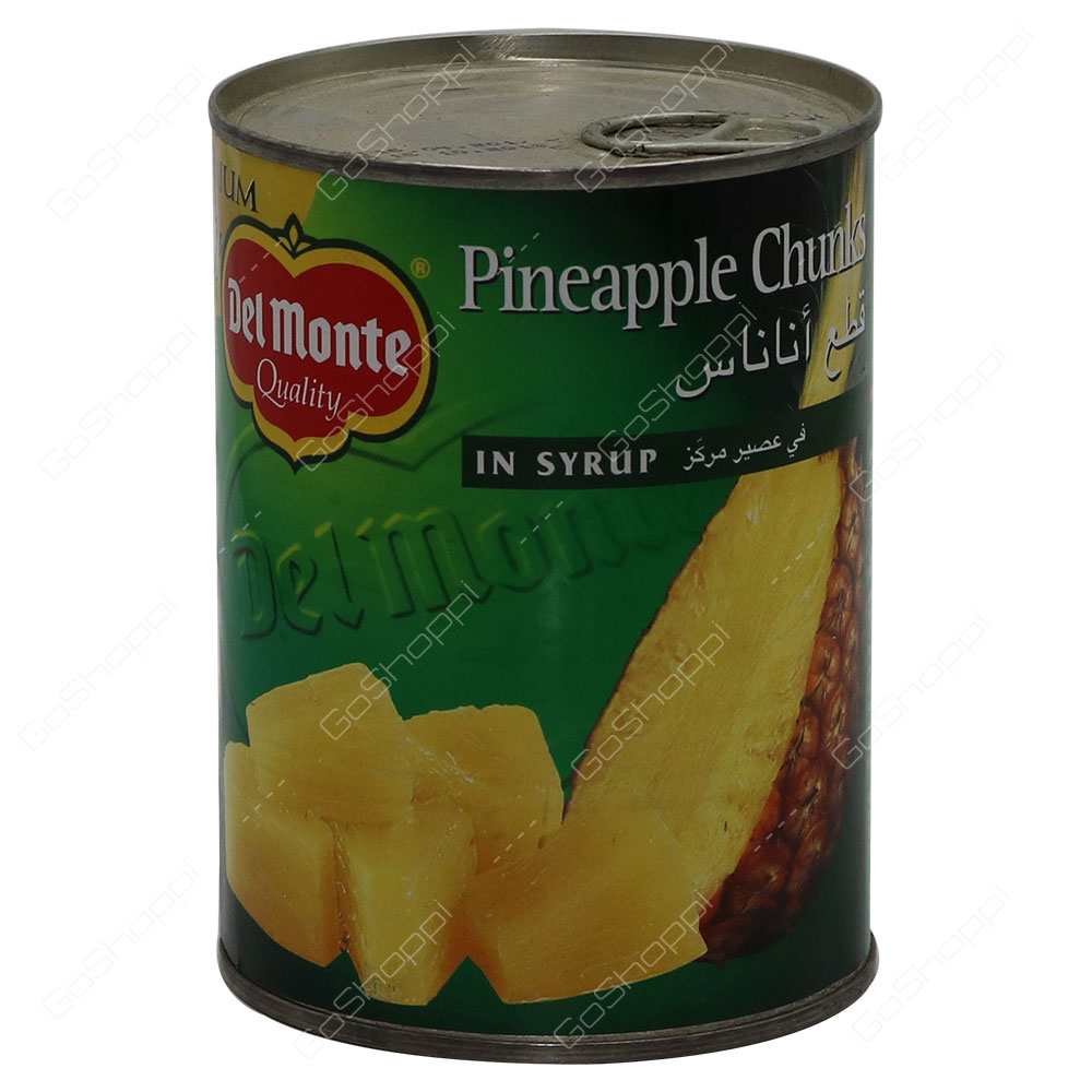 Del Monte Pineapple Chunks In Syrup 570 g